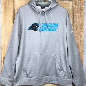 Nike Therma-Fit Carolina Panthers hoodie  LARGE